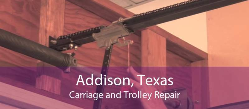 Addison, Texas Carriage and Trolley Repair