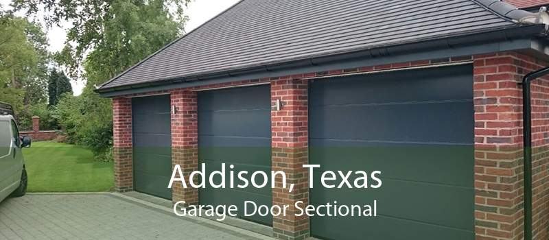 Addison, Texas Garage Door Sectional