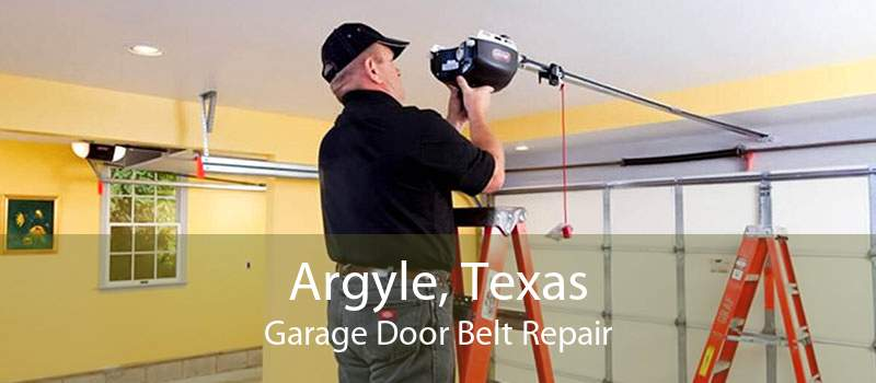 Argyle, Texas Garage Door Belt Repair