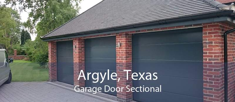 Argyle, Texas Garage Door Sectional