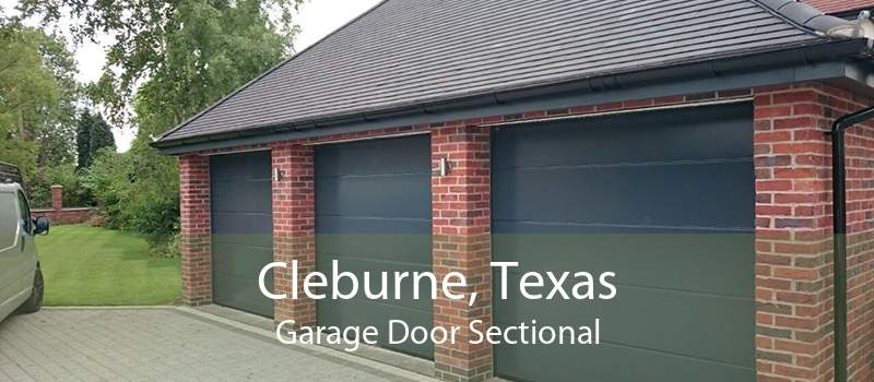 Cleburne, Texas Garage Door Sectional