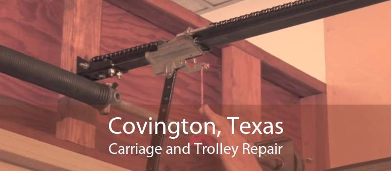 Covington, Texas Carriage and Trolley Repair
