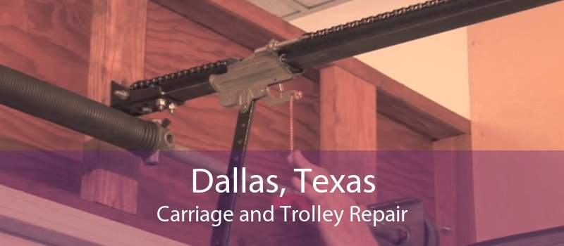 Dallas, Texas Carriage and Trolley Repair