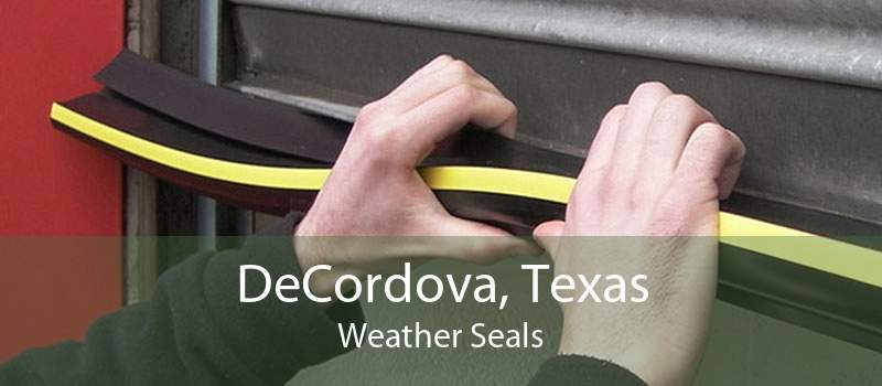 DeCordova, Texas Weather Seals
