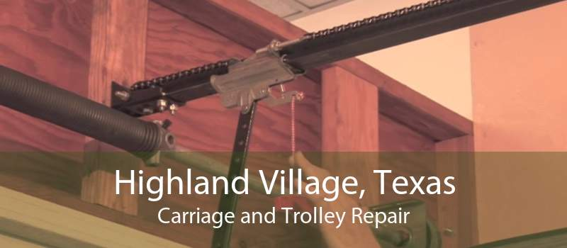 Highland Village, Texas Carriage and Trolley Repair