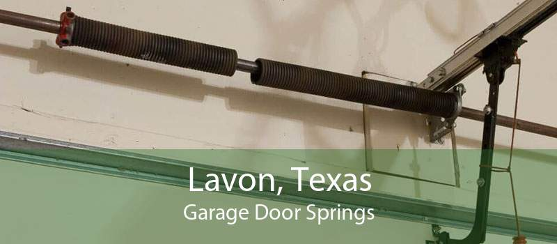 Lavon, Texas Garage Door Springs