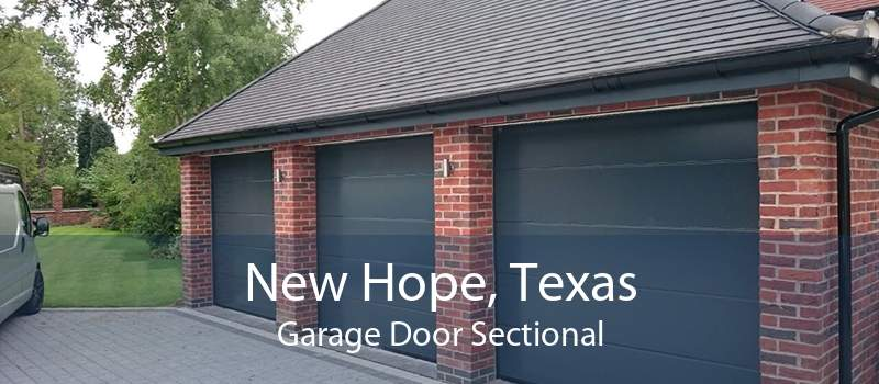 New Hope, Texas Garage Door Sectional