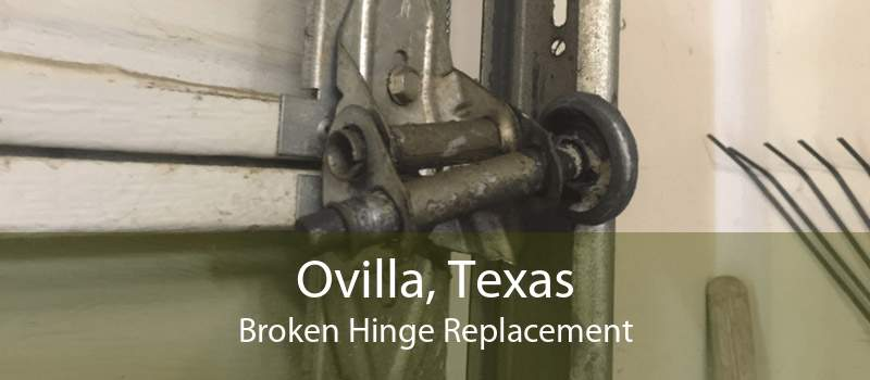 Ovilla, Texas Broken Hinge Replacement