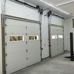 Commercial Garage Door in Westlake