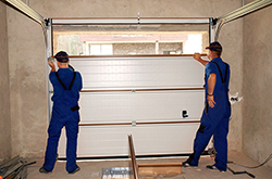 Sectional Garage Door Installation in Prosper